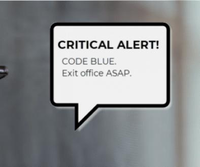 Exit Office Alert